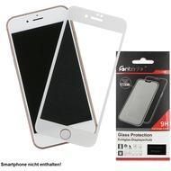Fontastic Full Cover Schutzglas Weiß komp. mit Apple iPhone 7/ 8