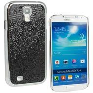 Fontastic Hardcover Glitter schwarz für Samsung Galaxy S4