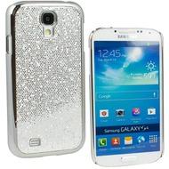 Fontastic Hardcover Glitter silber für Samsung Galaxy S4