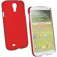 Fontastic Hardcover Pure rot für Samsung Galaxy S4