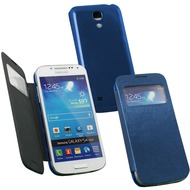 Fontastic Hardcover Window Plus dunkelblau für Samsung Galaxy S4 Mini
