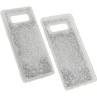 Fontastic Hybridcover Glam Silber komp. mit Samsung Galaxy Note 8
