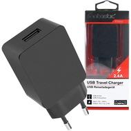 Fontastic Netzteil Compact USB 2.4A schwarz