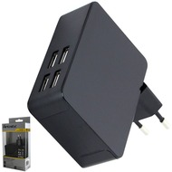 Fontastic Netzteil Quad 4x USB 5A schwarz