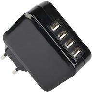 Fontastic Netzteil Tetra 4x USB 4.2A schwarz mit integriertem Smart IC