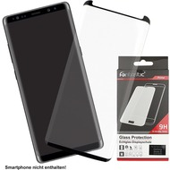 Fontastic Prime Curved Full Cover Schutzglas Schwarz komp. mit Samsung Galaxy Note 8
