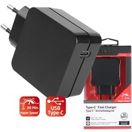 Fontastic Prime Netzteil Rapid 30 Type-C 30 Watt schwarz Power Delivery, Fast Charge 3... 3.6-20V max. 3A