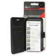 Fontastic Prime PU Tasche Diary Business schwarz komp. mit Apple iPhone XS Max