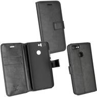 Fontastic Prime PU Tasche Diary Business schwarz komp. mit Huawei Nova 2 (2017)