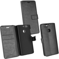 Fontastic Prime PU Tasche Diary Business schwarz komp. mit Huawei Nova 2 Plus (2017)