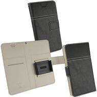 Fontastic Prime Tasche Diary Hola Universal 3XL schwarz 160 x 78 x 8MM