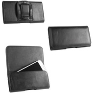 Fontastic PU Tasche Clip 2XL schwarz 142x72x10mm