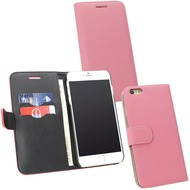 Fontastic PU Tasche Diary Noma pink für Apple iPhone 6/ 6s