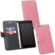 Fontastic PU Tasche Diary Noma pink für Apple iPhone 6+/ 6s+