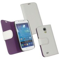 Fontastic PU Tasche Diary Noma weiß für Samsung Galaxy S4 Mini