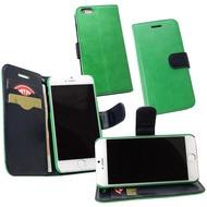 Fontastic PU Tasche Diary Twin grün für Apple iPhone 6/ 6s