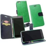 Fontastic PU Tasche Diary Twin grün für Apple iPhone 6+/ 6s+