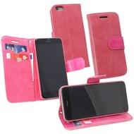 Fontastic PU Tasche Diary Twin pink für Apple iPhone 6/ 6s