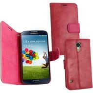 Fontastic PU Tasche Diary Twin pink für Samsung Galaxy S4 Mini