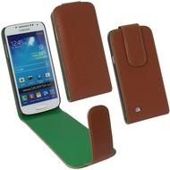 Fontastic PU Tasche Flip Noma braun für Samsung Galaxy S4 Mini