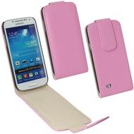 Fontastic PU Tasche Flip Noma pink für Samsung Galaxy S4 Mini