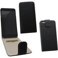 Fontastic PU Tasche Flip Noma schwarz für Apple iPhone 6+/ 6s+