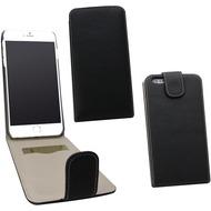 Fontastic PU Tasche Flip Noma schwarz für Apple iPhone 6/ 6s
