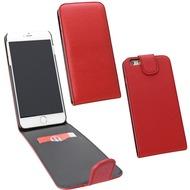 Fontastic PU Tasche Flip Noma weinrot für Apple iPhone 6/ 6s