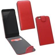 Fontastic PU Tasche Flip Noma weinrot für Apple iPhone 6+/ 6s+