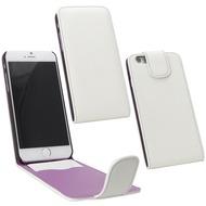 Fontastic PU Tasche Flip Noma weiß für Apple iPhone 6/ 6s