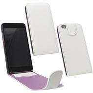 Fontastic PU Tasche Flip Noma weiß für Apple iPhone 6+/ 6s+