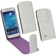 Fontastic PU Tasche Flip Noma weiß für Samsung Galaxy S4 Mini