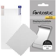 Fontastic Schutzfolie 2 Stück glänzend für HTC One M9