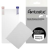 Fontastic Schutzfolie 2 Stück glänzend für Samsung Galaxy A7
