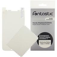 Fontastic Schutzfolie 2 Stück glänzend für Samsung Galaxy Note3