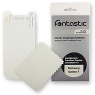 Fontastic Schutzfolie 2 Stück glänzend für Samsung Galaxy Y