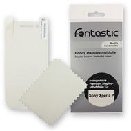 Fontastic Schutzfolie 2 Stück glänzend für Sony Xperia P