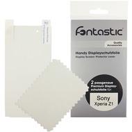 Fontastic Schutzfolie 2 Stück glänzend für Sony Xperia Z1 L39H