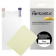 Fontastic Schutzfolie 2 Stück glänzend für Sony Xperia Z L36H