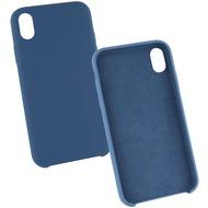 Fontastic Silikon Komplett Gefütterte Schutzhülle blau komp. mit Apple iPhone XR