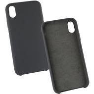 Fontastic Silikon Komplett Gefütterte Schutzhülle schwarz komp. mit Apple iPhone XR
