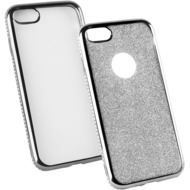 Fontastic Softcover Clear Diamond Ultrathin grau komp. mit Apple iPhone 7 /  8