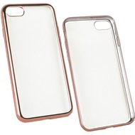 Fontastic Softcover Clear Metallic Ultrathin Rosegold für Apple iPhone 7 /  8