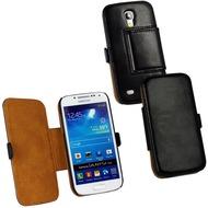 Fontastic Tasche Diary schwarz für Samsung Galaxy S4 Mini