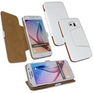 Fontastic Tasche Diary weiß für Samsung Galaxy S6