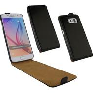 Fontastic Tasche Flip schwarz für Samsung Galaxy S6