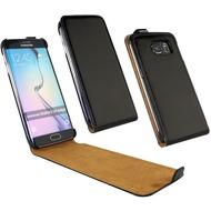Fontastic Tasche Flip schwarz für Samsung Galaxy S6 Edge
