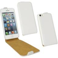 Fontastic Tasche Flip weiß für Apple iPhone 5C