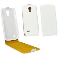 Fontastic Tasche Flip weiß für Samsung Galaxy S4 Mini