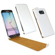 Fontastic Tasche Flip weiß für Samsung Galaxy S6 Edge